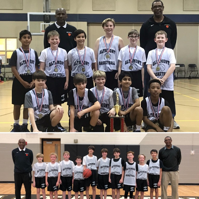 5th & 6th Grade Boys Basketball BRIAA Regular Season Champs
