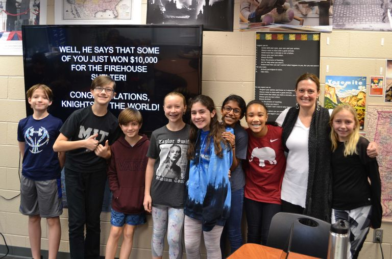 Sixth Grade Leadership Class Wins $10,000 National Prize